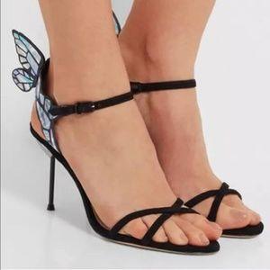 SOPHIA WEBSTER Chiara Butterfly Wing Ankle-Wrap